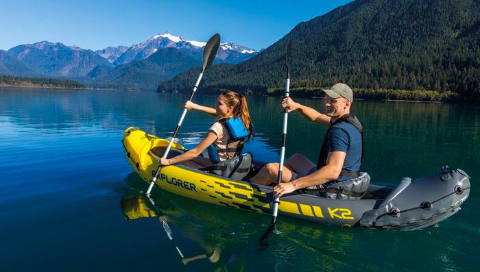 explorer k2 kayak recensione