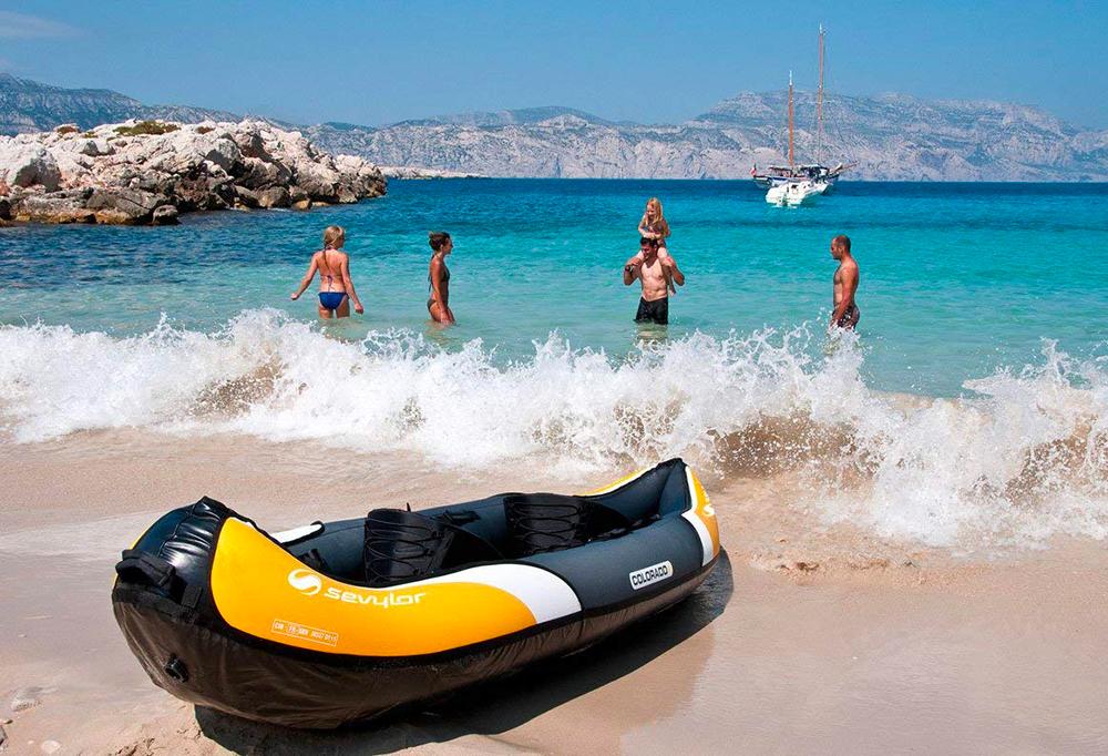 recensione kayak sevylor colorado