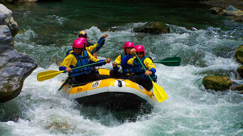 Rafting-sul-Fiume-Lao
