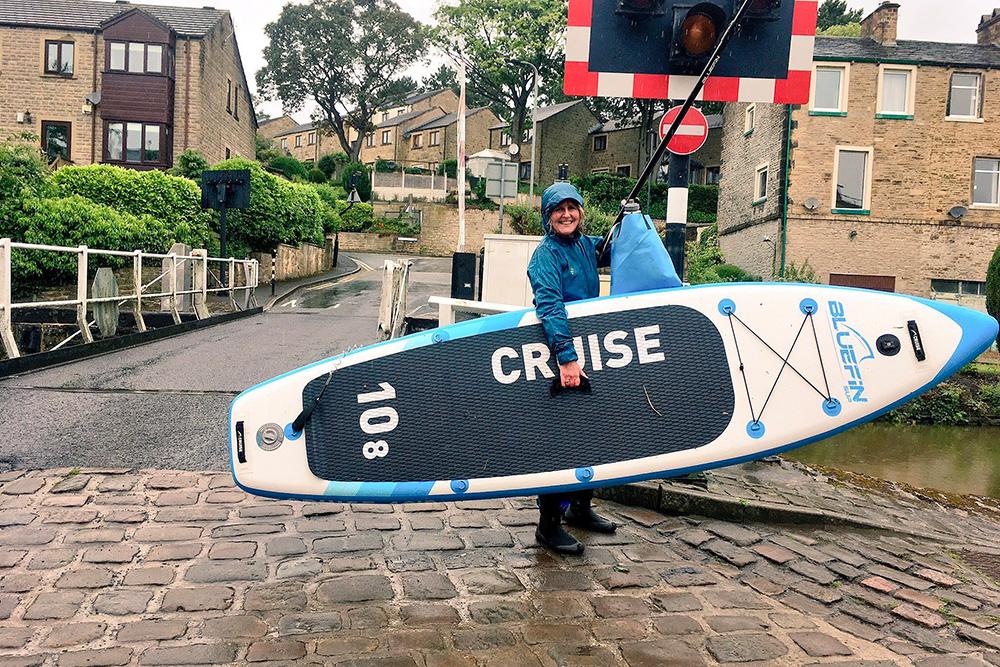 Bluefin Cruise recensione e opinioni paddle