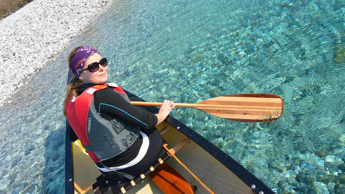 guida canoa canadese