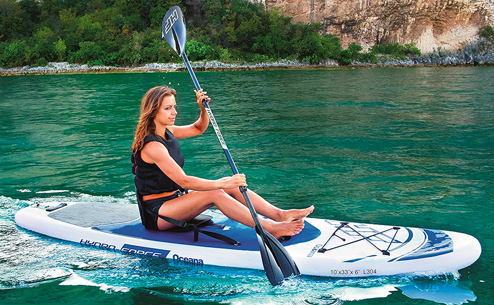 hydro force oceana bestway sup paddle recensione