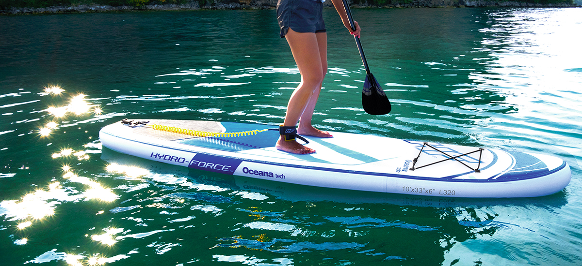 hydro force oceana sup paddle recensione