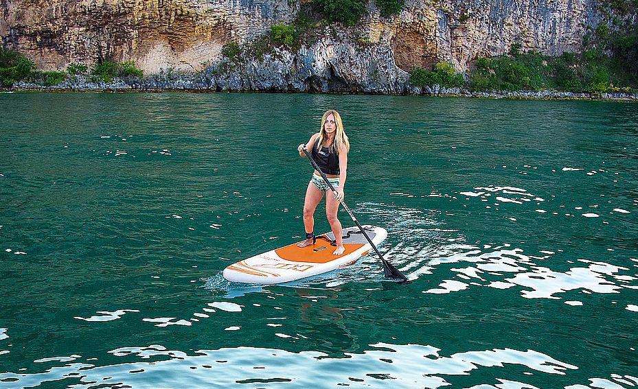 sup bestway hydro force aqua journey paddle