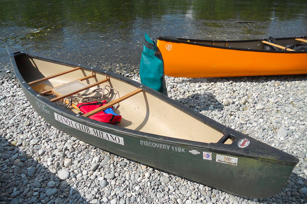 canoa canadese com è fatta