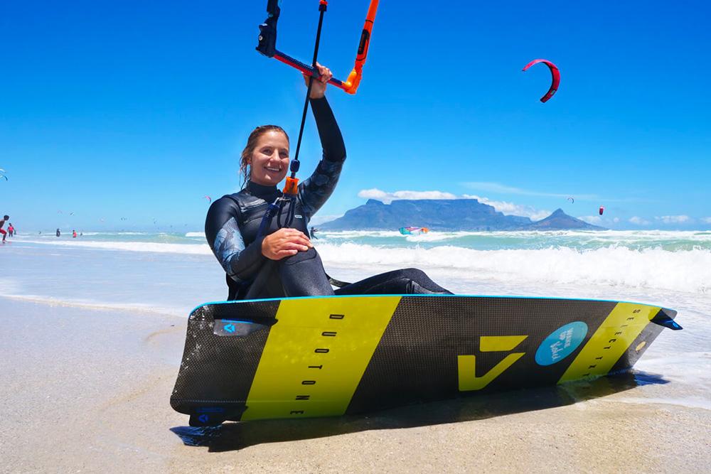 come fare kitesurfing