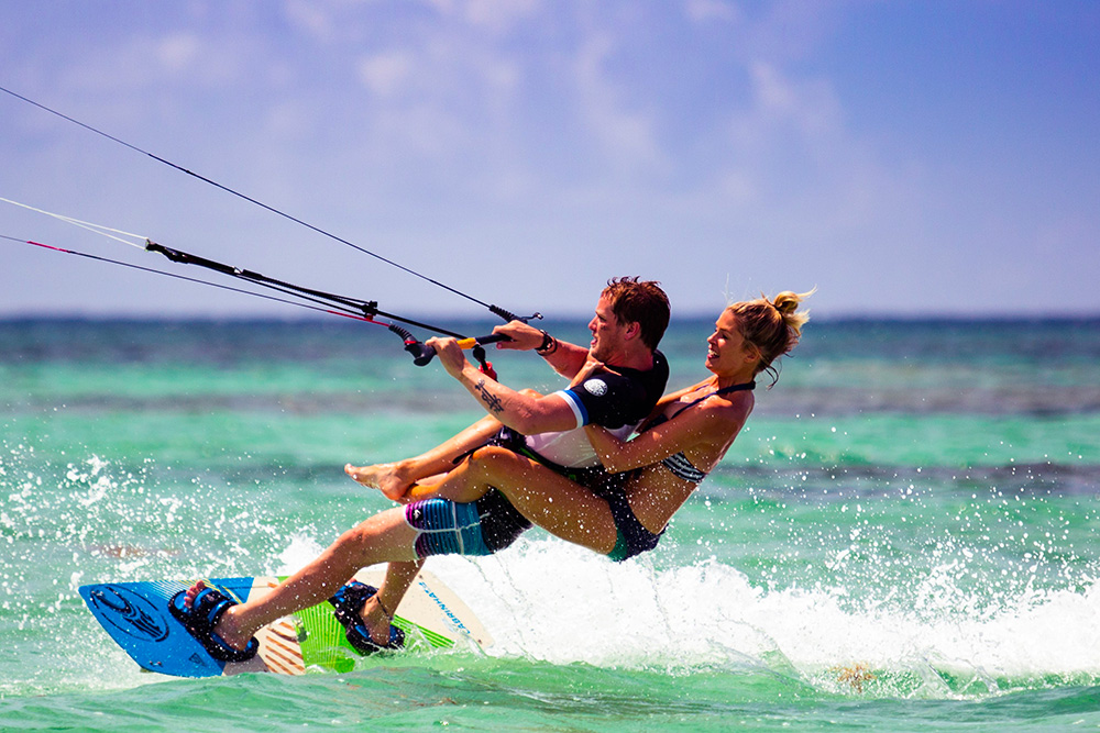 kitesurfing guida