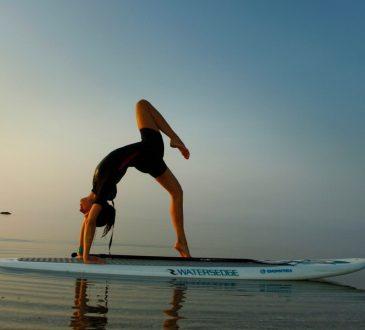 yoga sup esercizi
